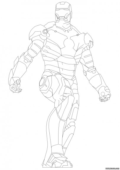 Coloriage iron man 2 imprimer et colorier - Iron man 2 telecharger ...