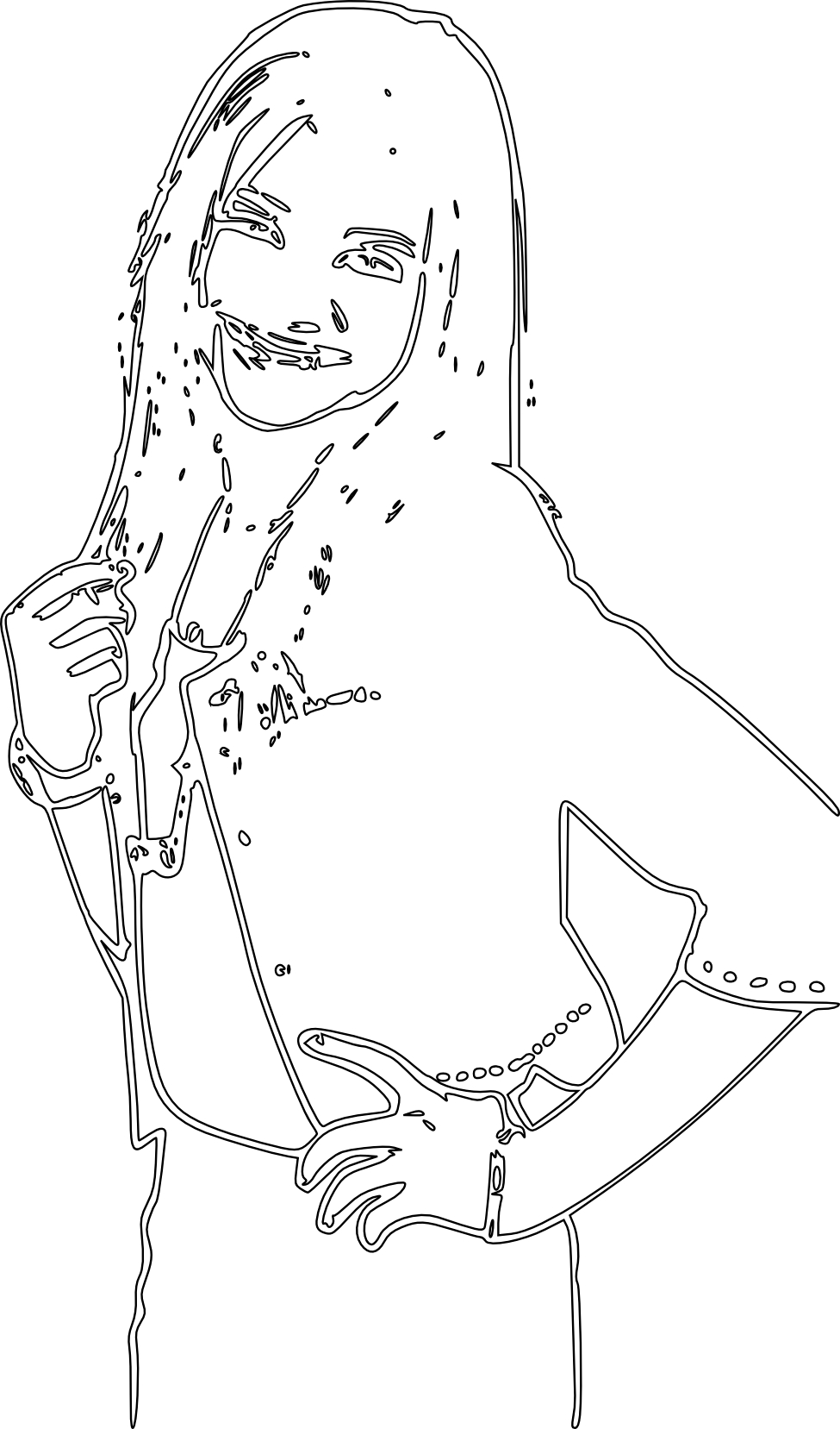 coloring pages of zendaya - photo#12