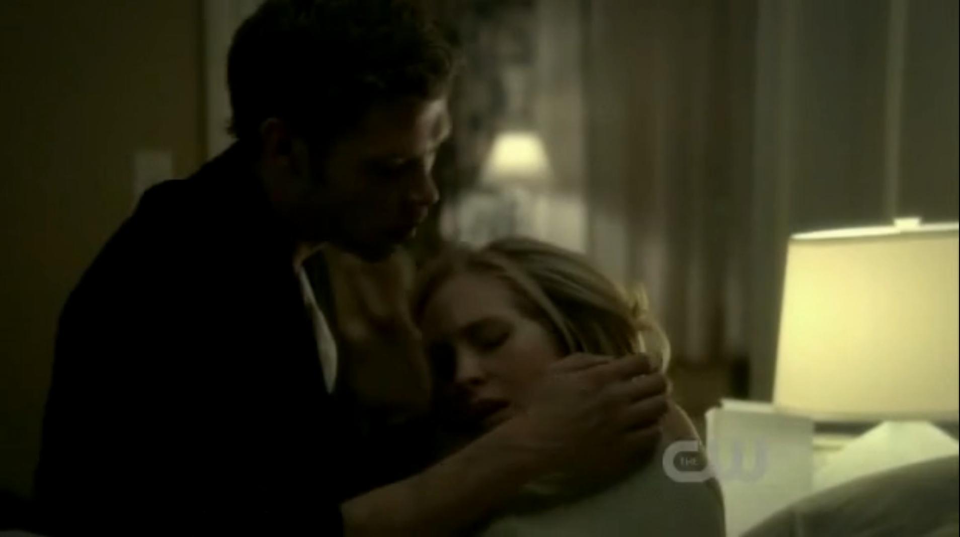 Klaus amoureux de Caroline