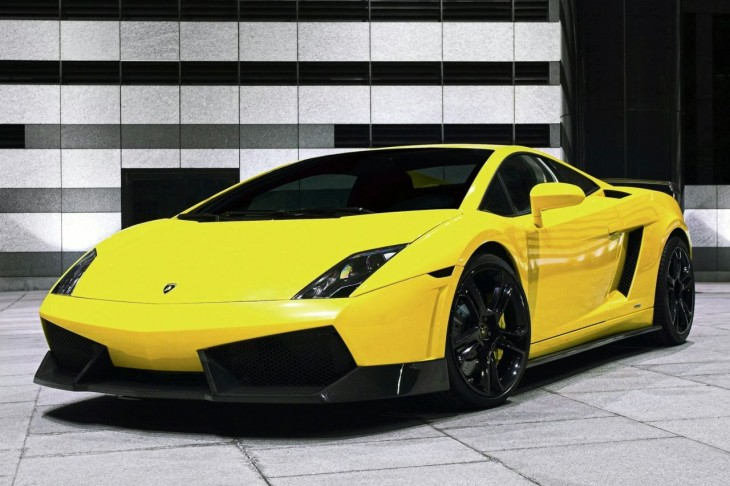 Lamborghini Gallardo Spyder jaune