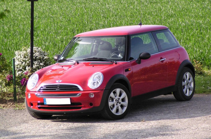 Mini one rouge