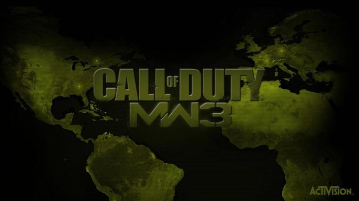 Modern Warfare 3 carte wallpaper