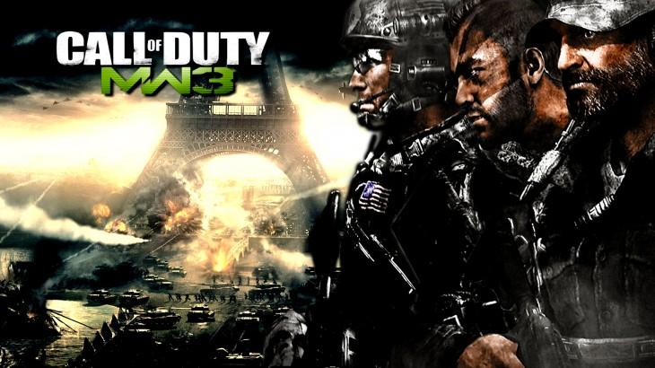 Modern Warfare 3 tour eiffel wallpaper
