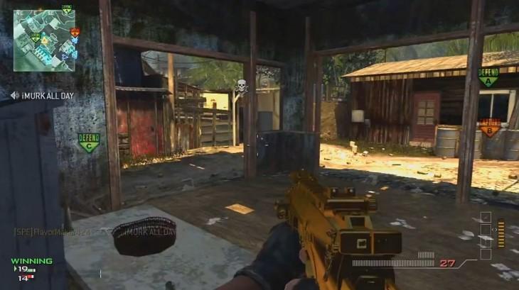 MW3 arme MP7 en or