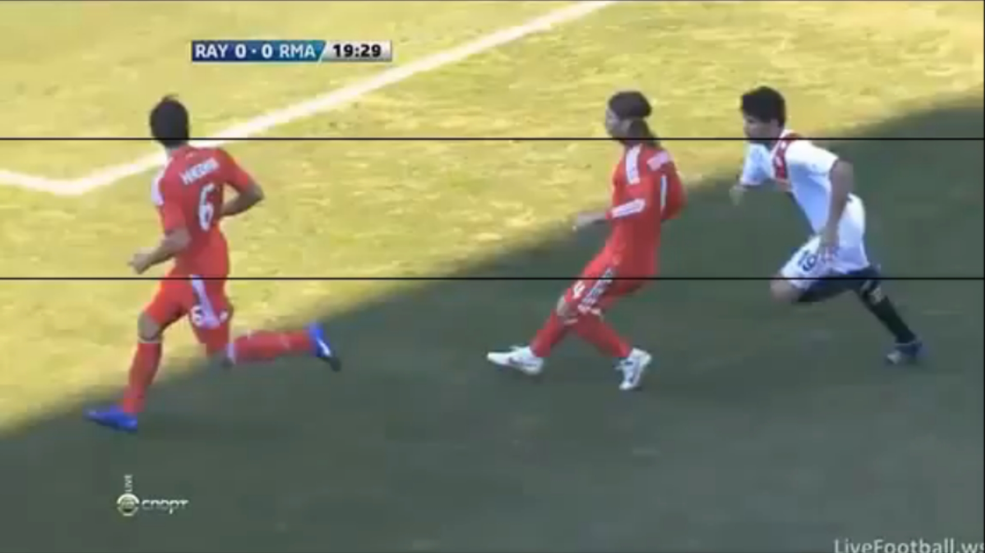 Agression Sergio Ramos 2012