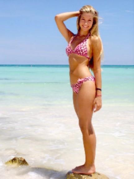 Alexandria Allie Deberry bikini