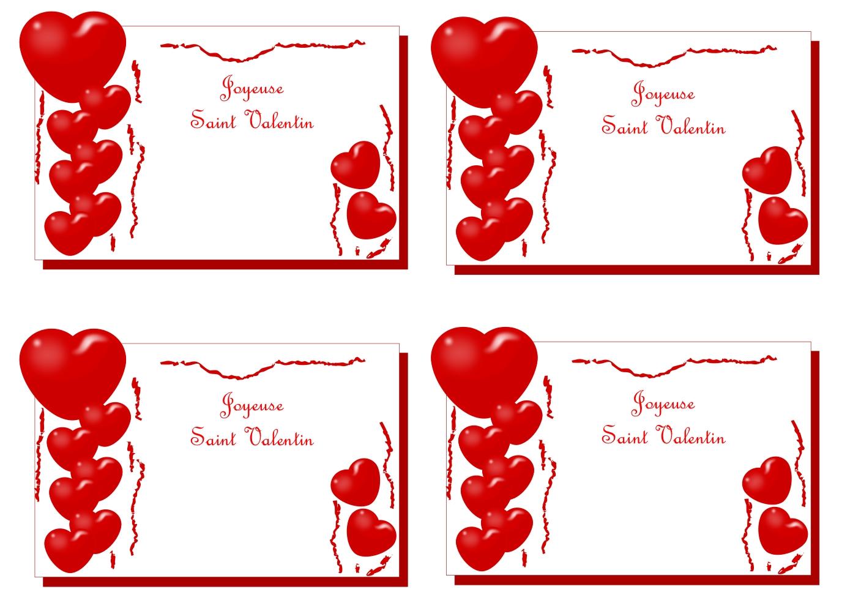 Carte Saint Valentin 2012