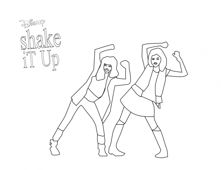 Coloriage Shake It Up