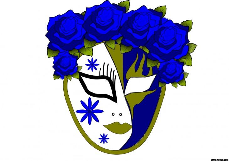 Masque carnaval de venise imprimer et d couper - Masque de carnaval de venise a imprimer ...
