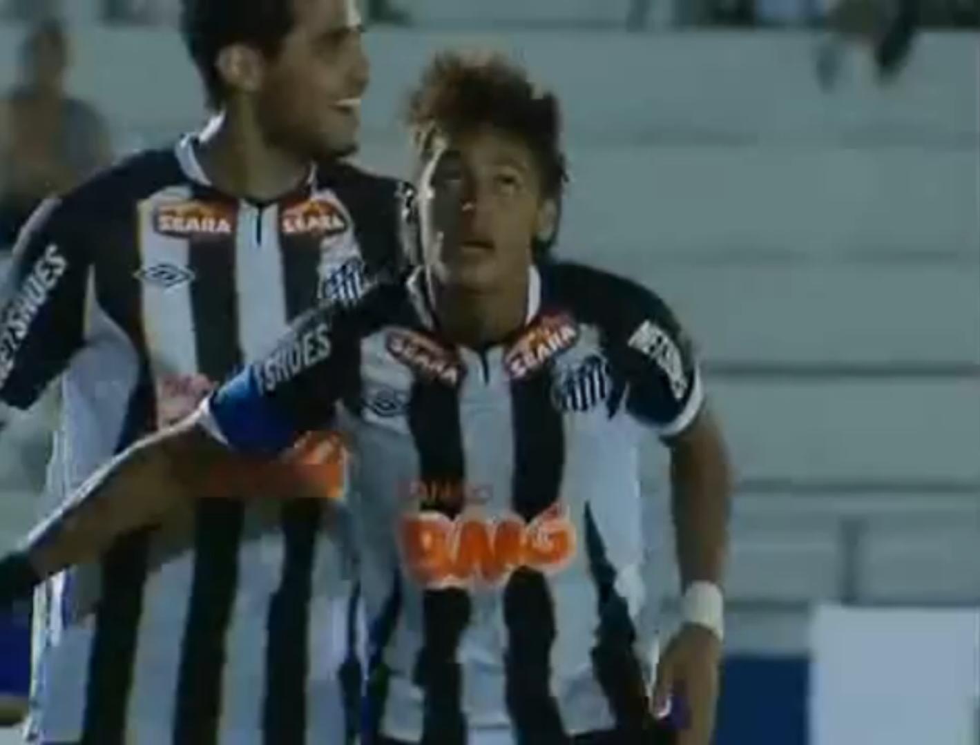 Neymar triplé 2012