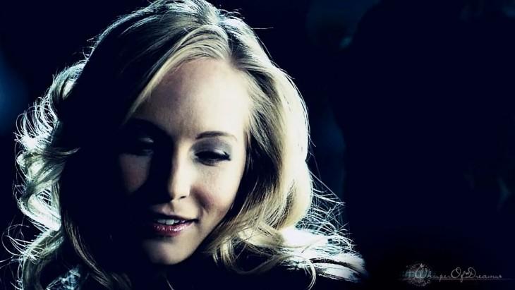 Caroline heureuse avec Klaus