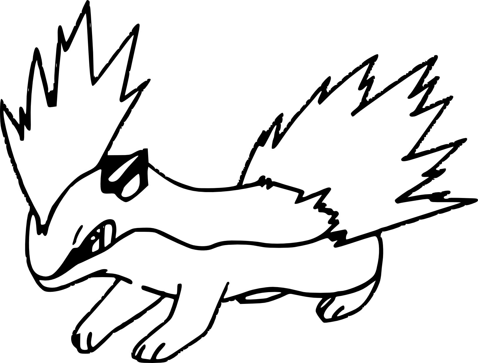 Coloriage Feurisson Pokemon