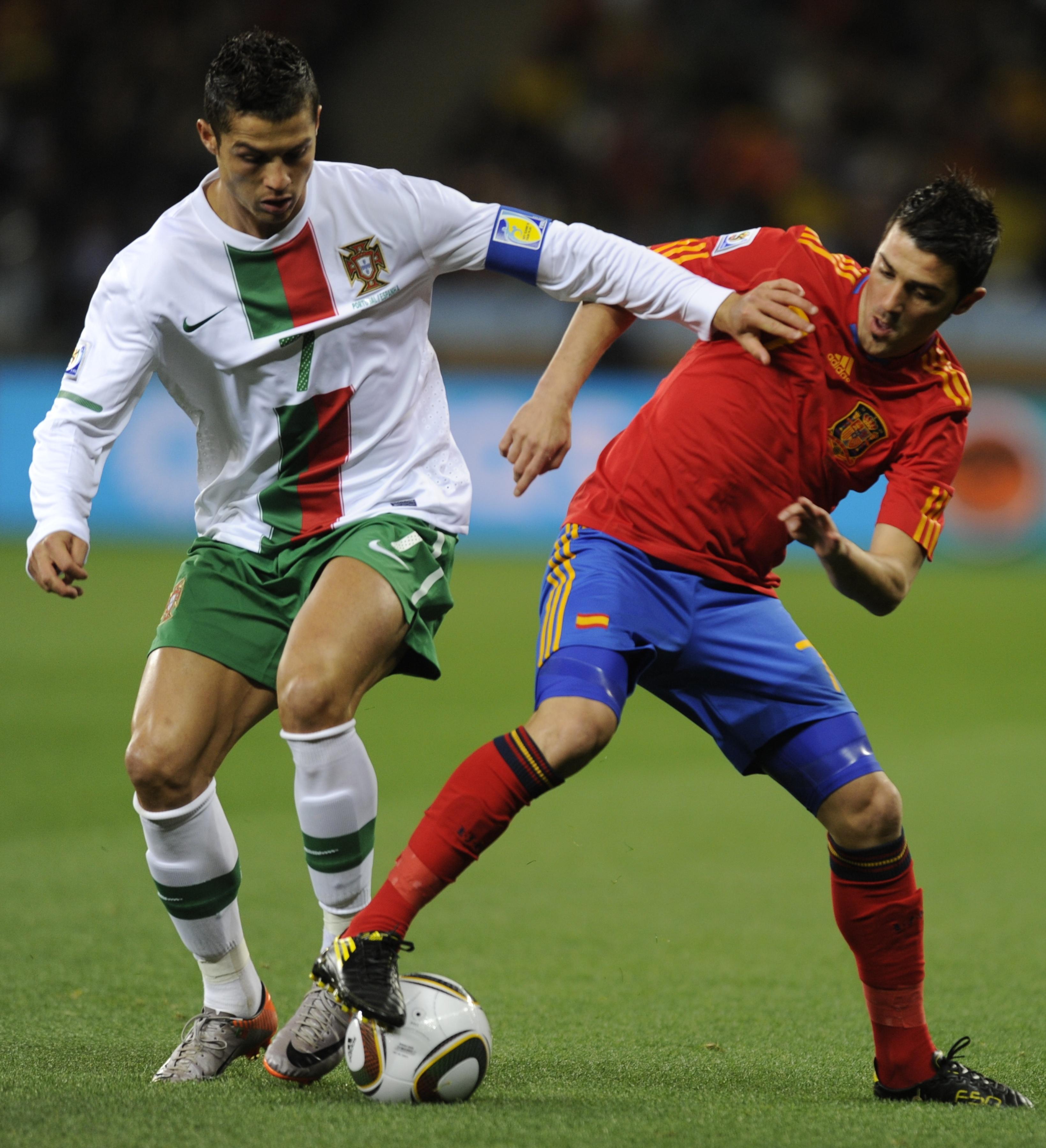 Cristiano Ronaldo vs David Villa