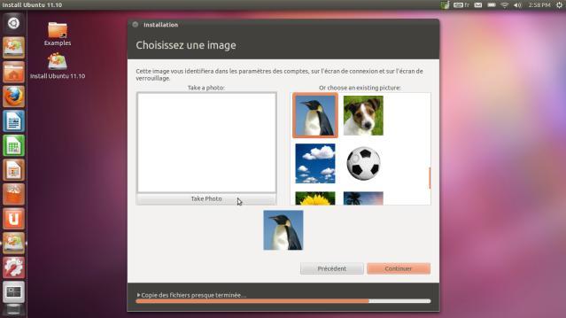 Icone profil Ubuntu