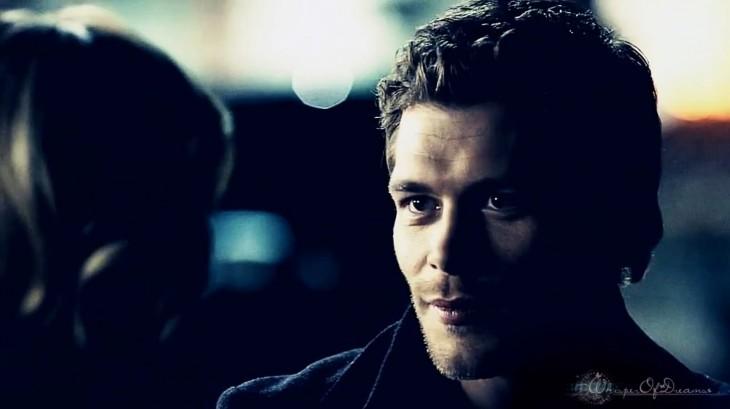Klaus regard amoureux