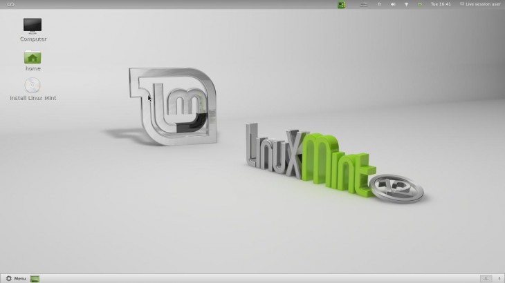 Linux Mint 12 live cd