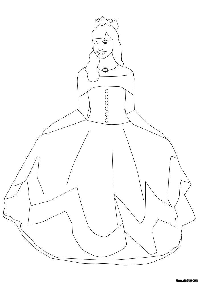 Princesse coloriage
