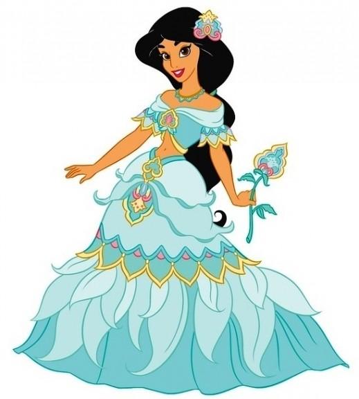 Robe de Jasmine dans Aladdin