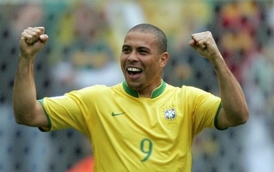 Ronaldo Brésil célébration but