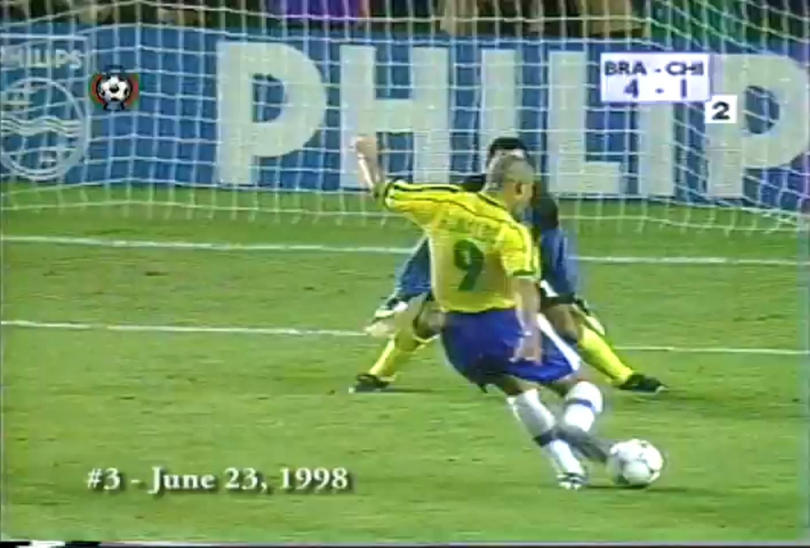 Ronaldo coupe du monde 1998