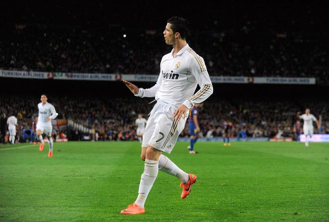 But Ronaldo vs Barcelone 2012
