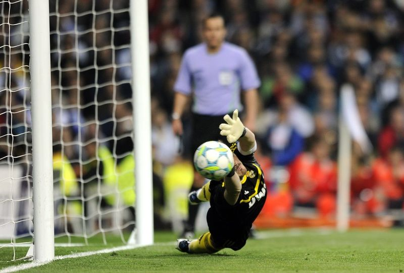 Casillas contre Bayer Munich 2012