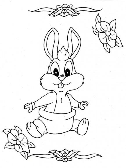 Bebe bugs bunny coloriage b b bugs bunny imprimer et colorier - Coloriage bugs bunny a imprimer ...