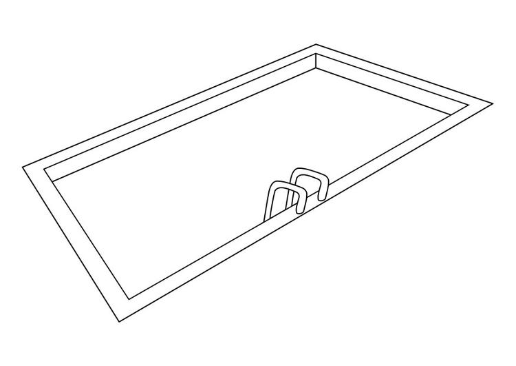 coloriage piscine imprimer et colorier. Black Bedroom Furniture Sets. Home Design Ideas
