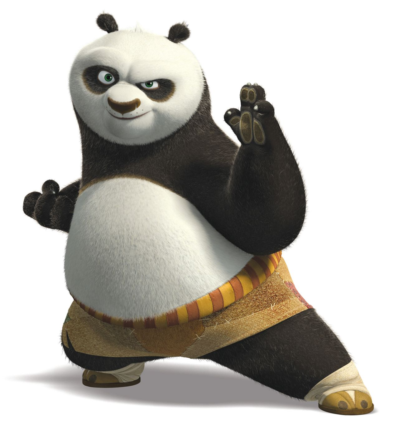 Coloriage kung fu panda imprimer gratuit - Singe kung fu panda ...
