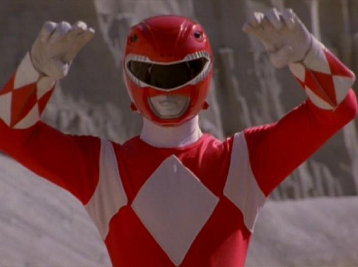 Power Ranger rouge