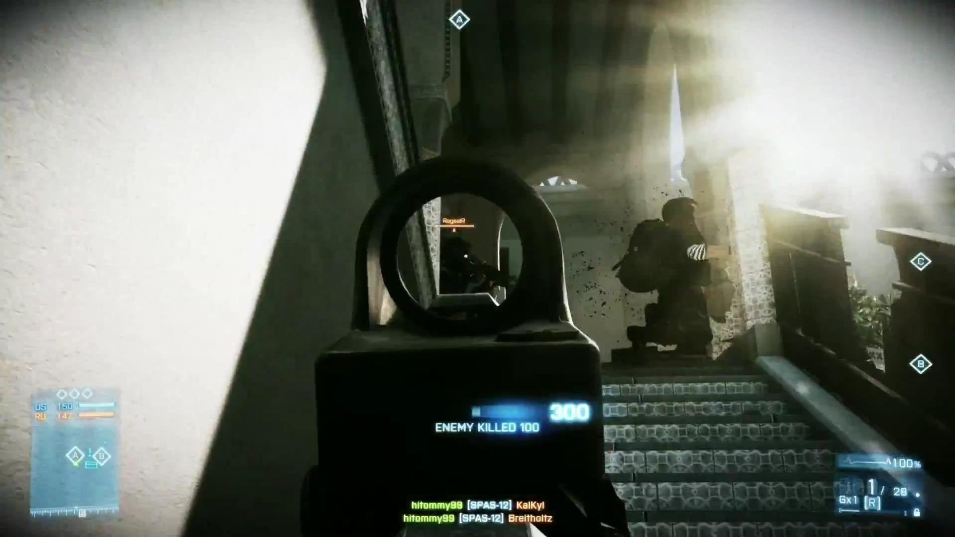 Spas 12 Battlefield 3