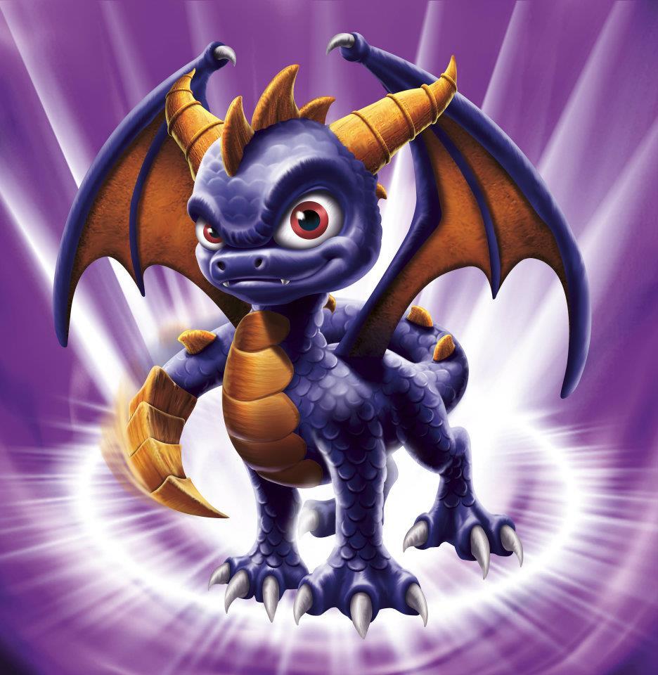 Coloriage Spyro de Skylanders: Spyro's Adventure à imprimer