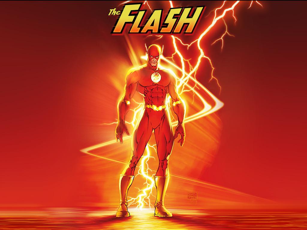 Coloriage Flash Le Super Heros A Imprimer Et Colorier