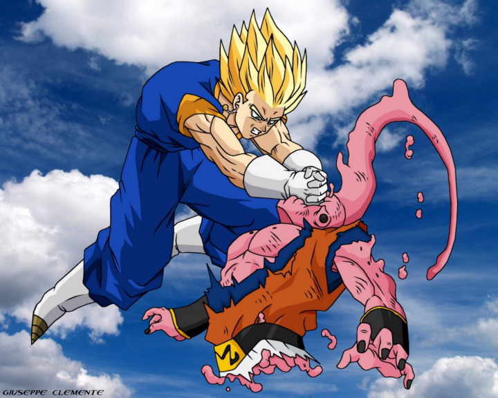 Vegeto massacre Boo