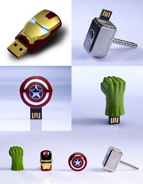 Clés USB Avengers héros
