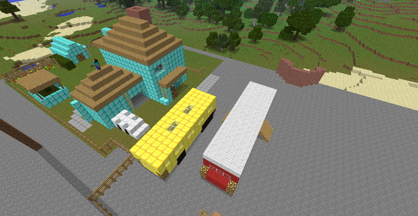 Minecraft map Nuketown