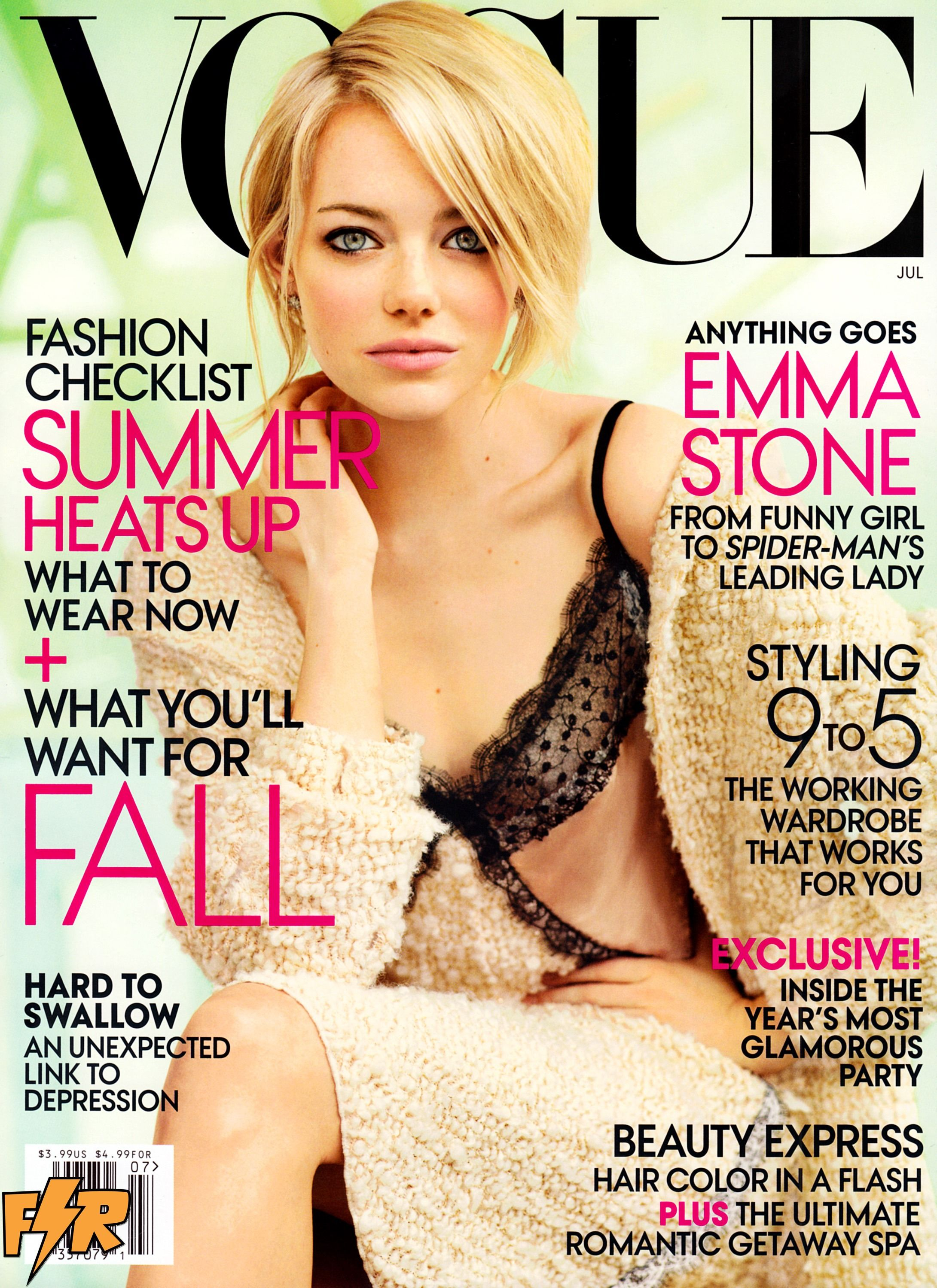 Emma Stone hot Vogue 2012