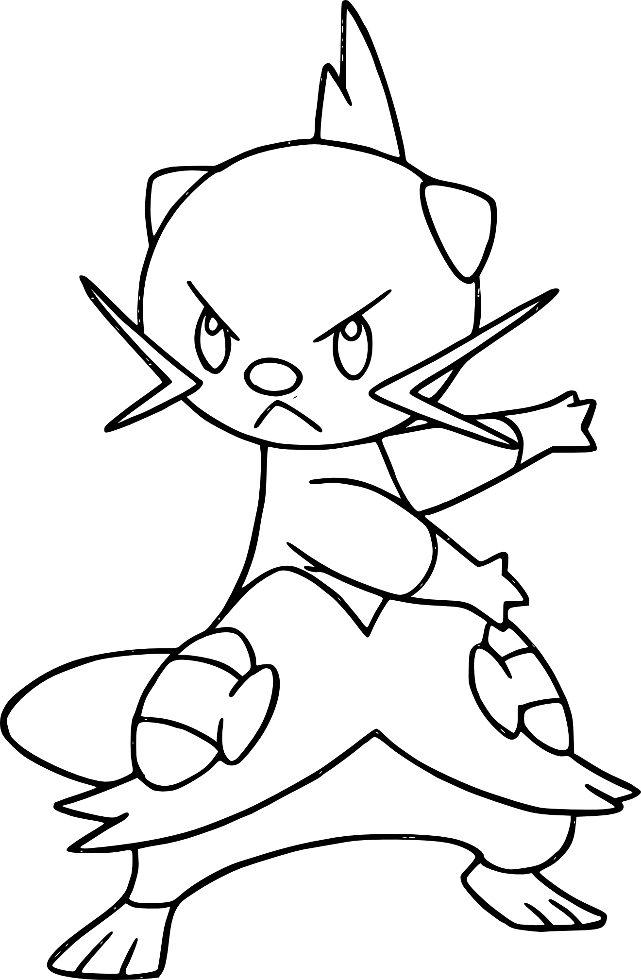 Coloriage Mateloutre Pokemon