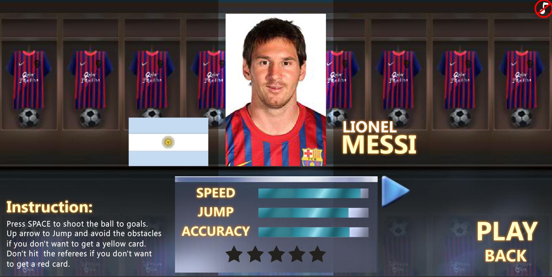 Jeu Messi