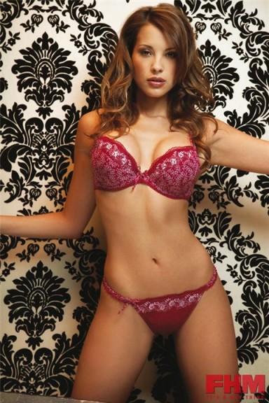 Lee-Ann Liebenberg lingerie sexy