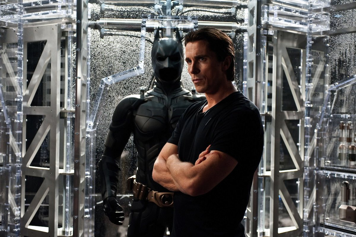 The Dark Knight Rises Christian Bale