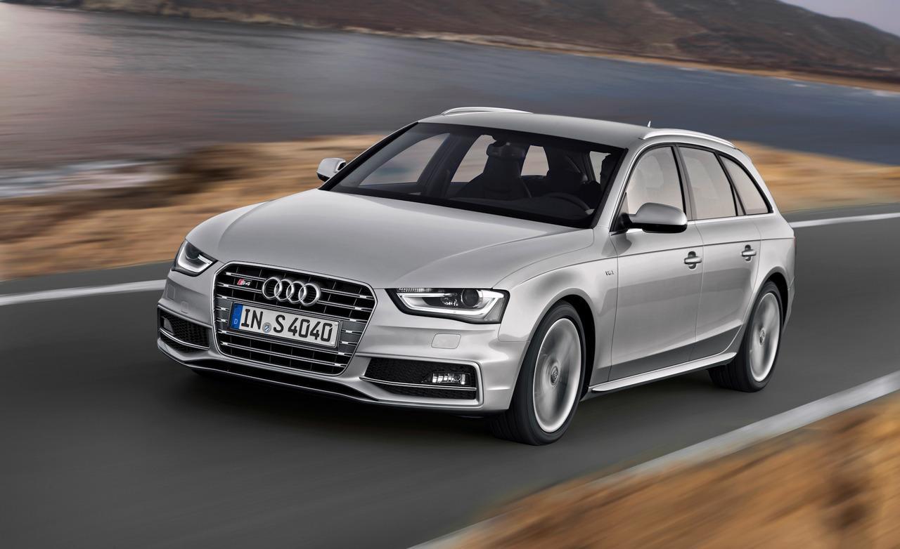 Audi S4 fond d'écran