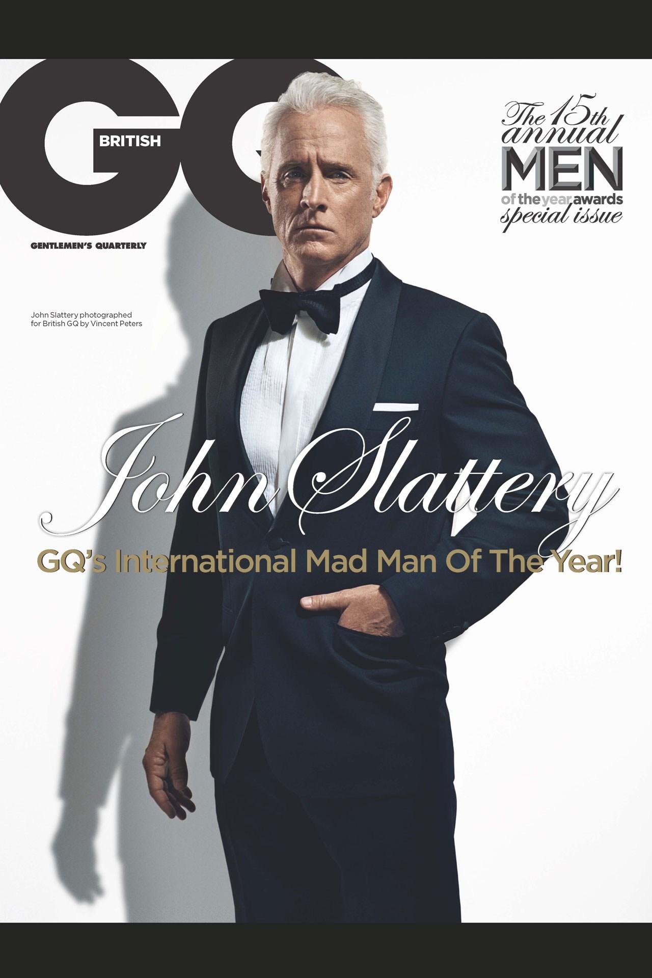 John Slattery GQ 2012