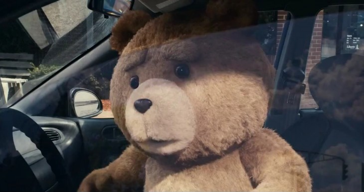 Ted ours en peluche