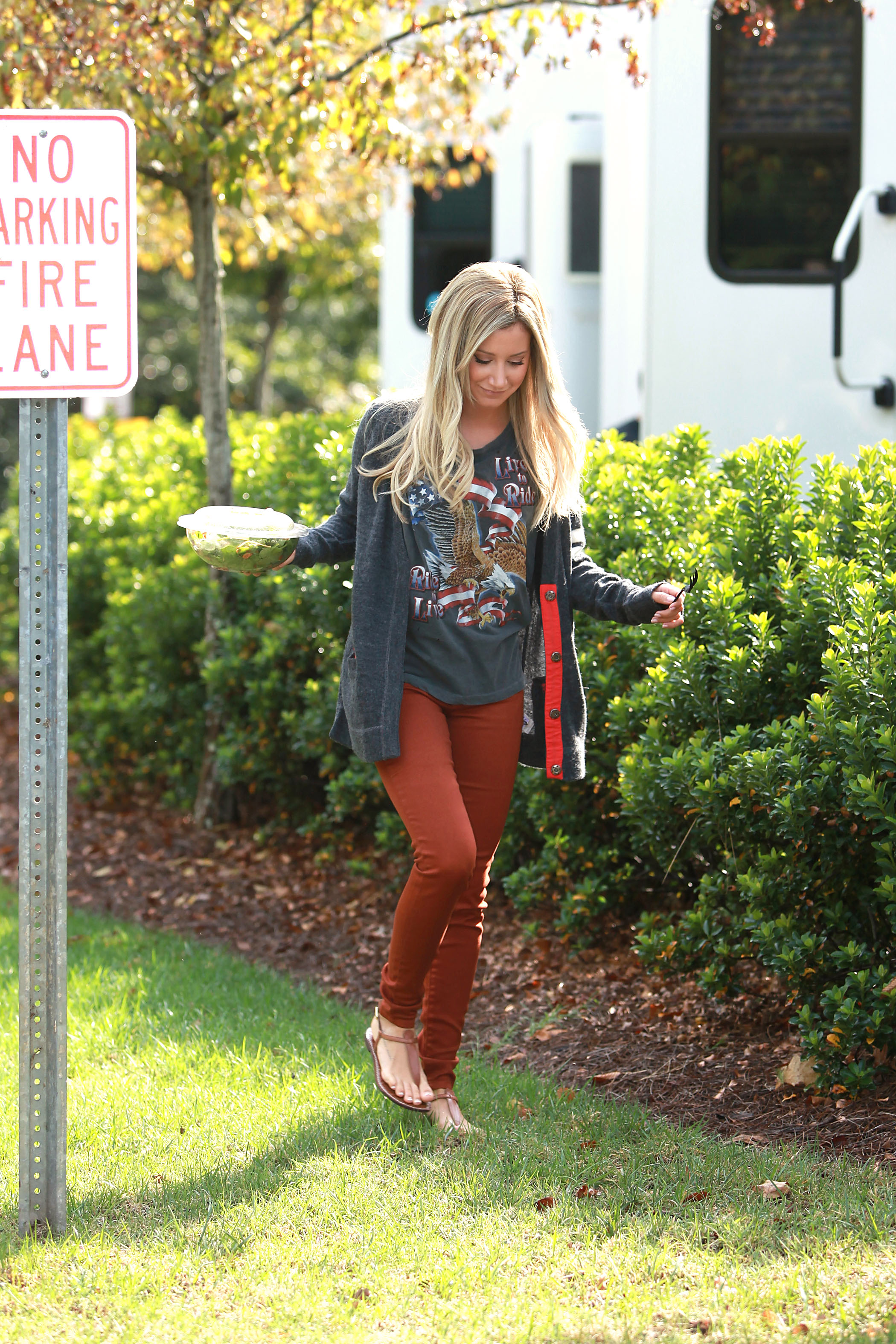 Ashley Tisdale salade 2012