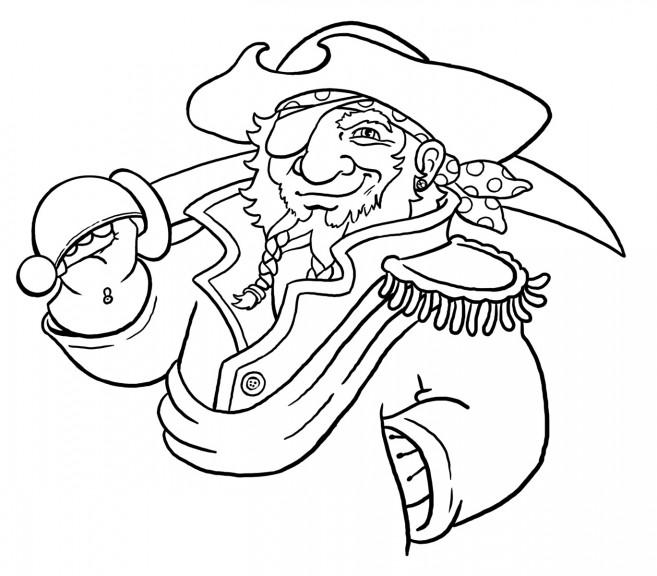Coloriage pirate