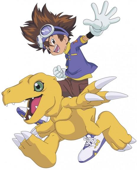 Digimon Taichi et Agumon