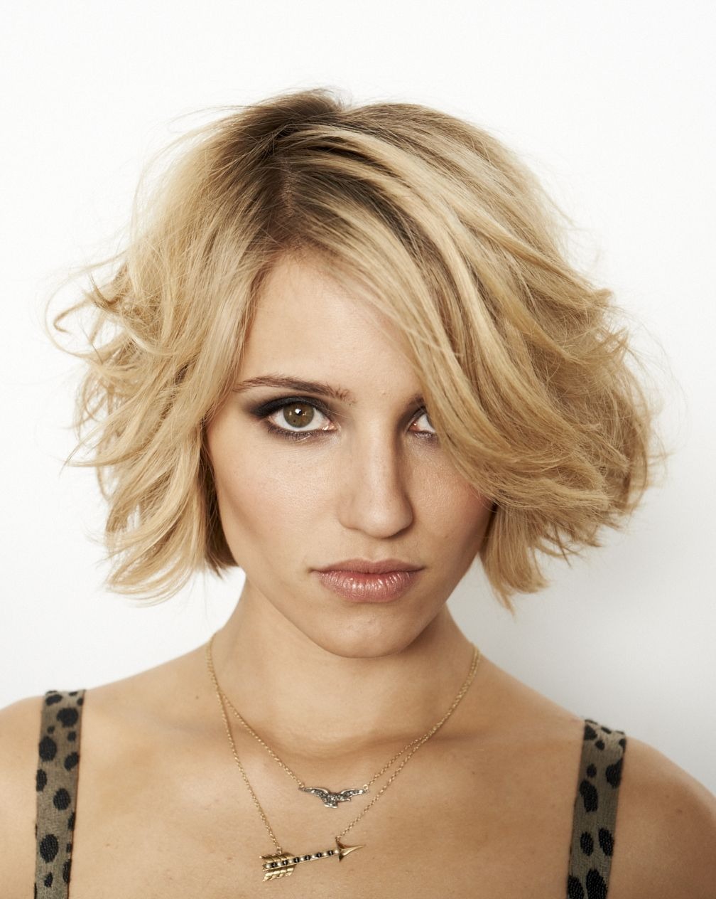 Quinn Fabray Dianna Agron cheveux courts