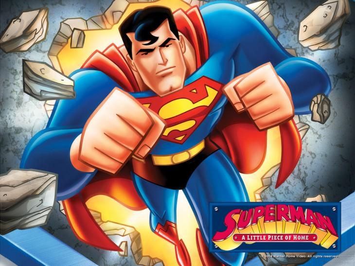 Superman dessin