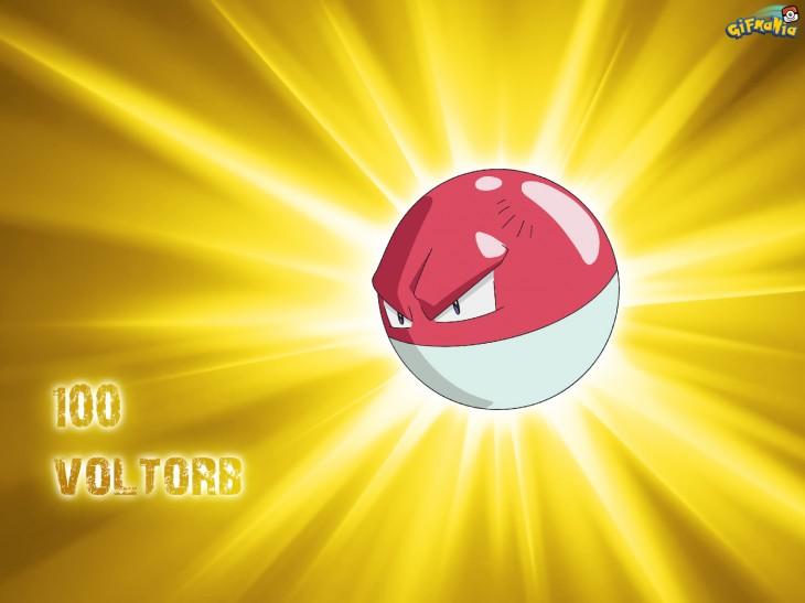 Voltorbe Pokemon wallpaper